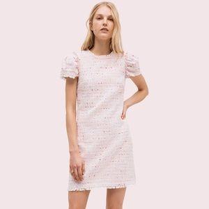 NWT kate spade tweed shift dress
